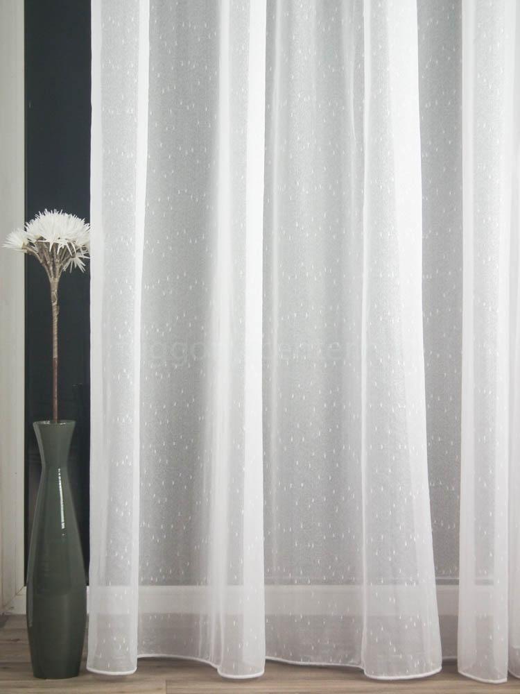 Flake fehér szablé függöny 180 cm Függöny Center